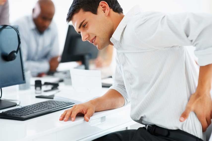 Alleviate Back and Neck Pain at the Office